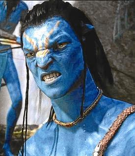 Uno de los personajes de Avatar hechos por ordenador.